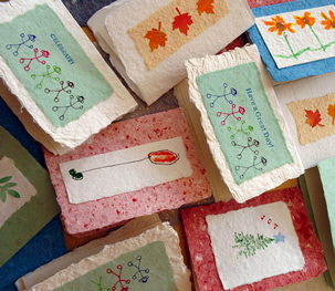 Hand-made Paper and Greeting Cards