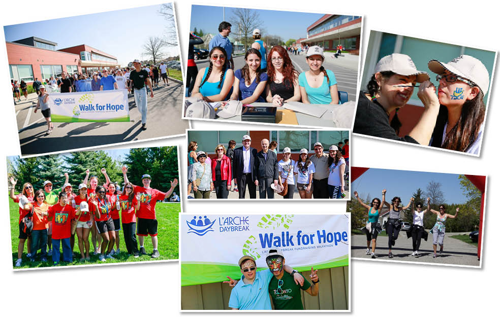 Walk for Hope Collage 2013