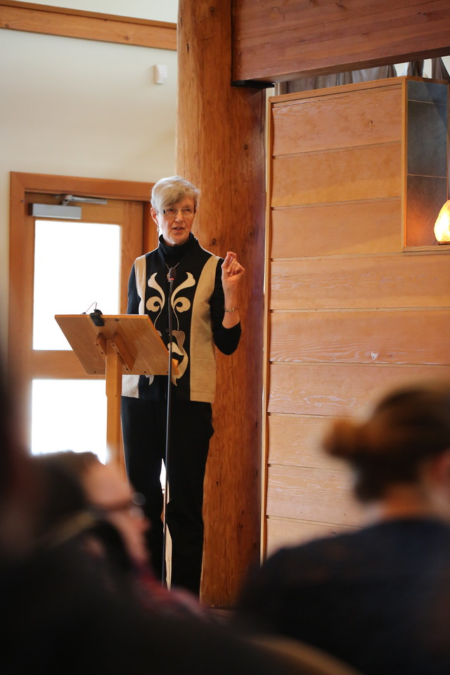 Mary Bastedo animated out Community Retreat Day with stories of her visit to Rwanda – so there was lots of spiritual nurture last winter.