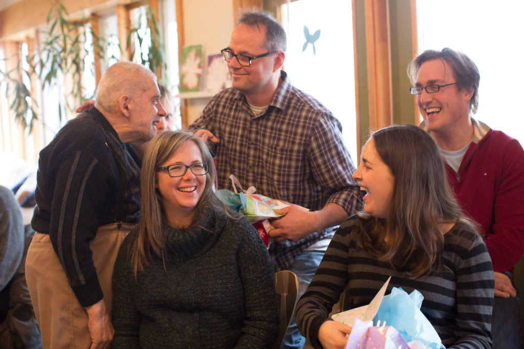 We also had a double baby shower for Trish and Sharon, and the babies followed promptly thereafter – new life for our community!