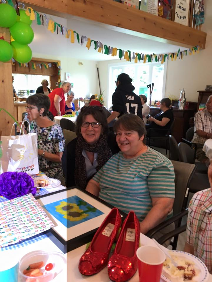 """In June, Mary Schneider retired and we celebrated her with a """"Wizard of Oz"""" themed party at the Meeting Hall which was really fun"""