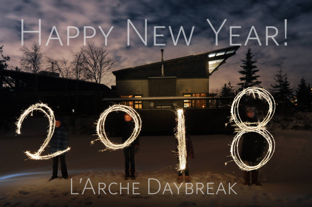 We brought in the new year with a Taizé prayer service at the Dayspring followed by fireworks over the Pond. We hope each of you enjoys a happy and healthy 2018!